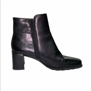 Ecco Black Leather Boots